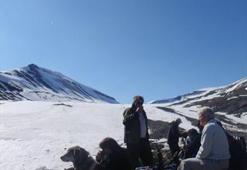 Glacier and mountain  - Spitsbergen Outdoor Activities