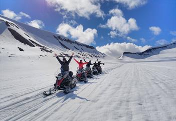 Sommereventyr på snøscooter - Better Moments