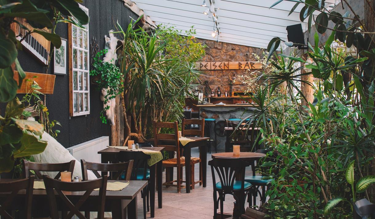 Peisen Bar inside of Vinterhagen Restaurant