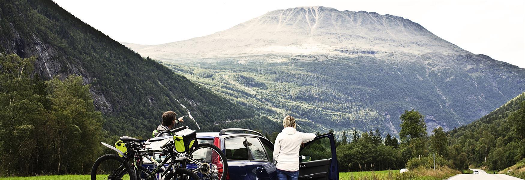 Bilferie til Hardangervidda