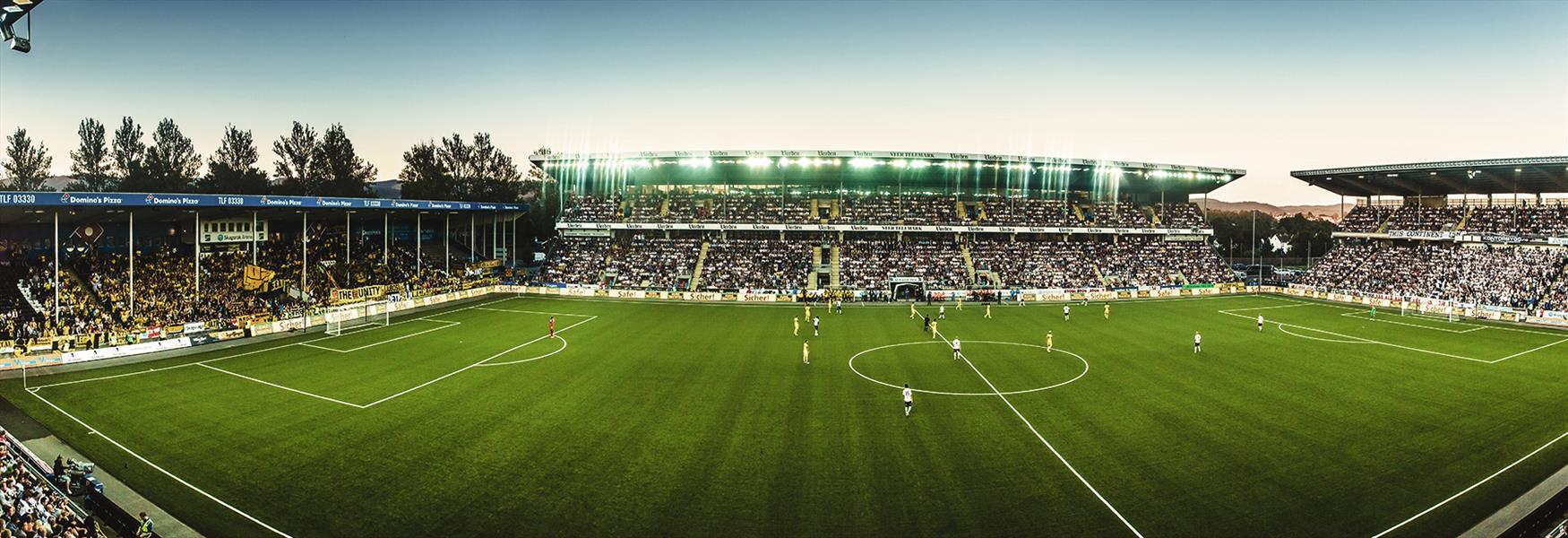 Odd fotballstadion i Skien