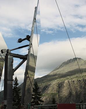 solspeilene på Rjukan