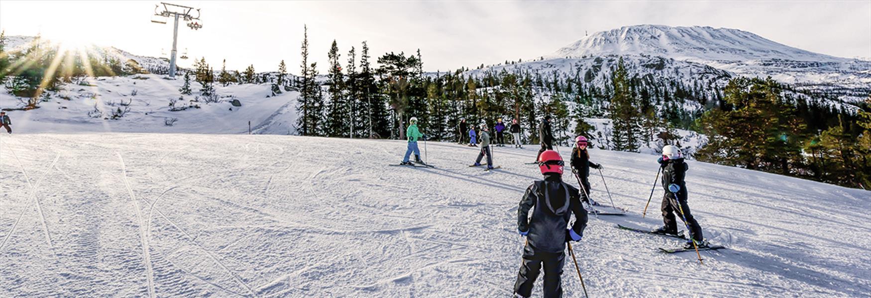 Gausta ski resort