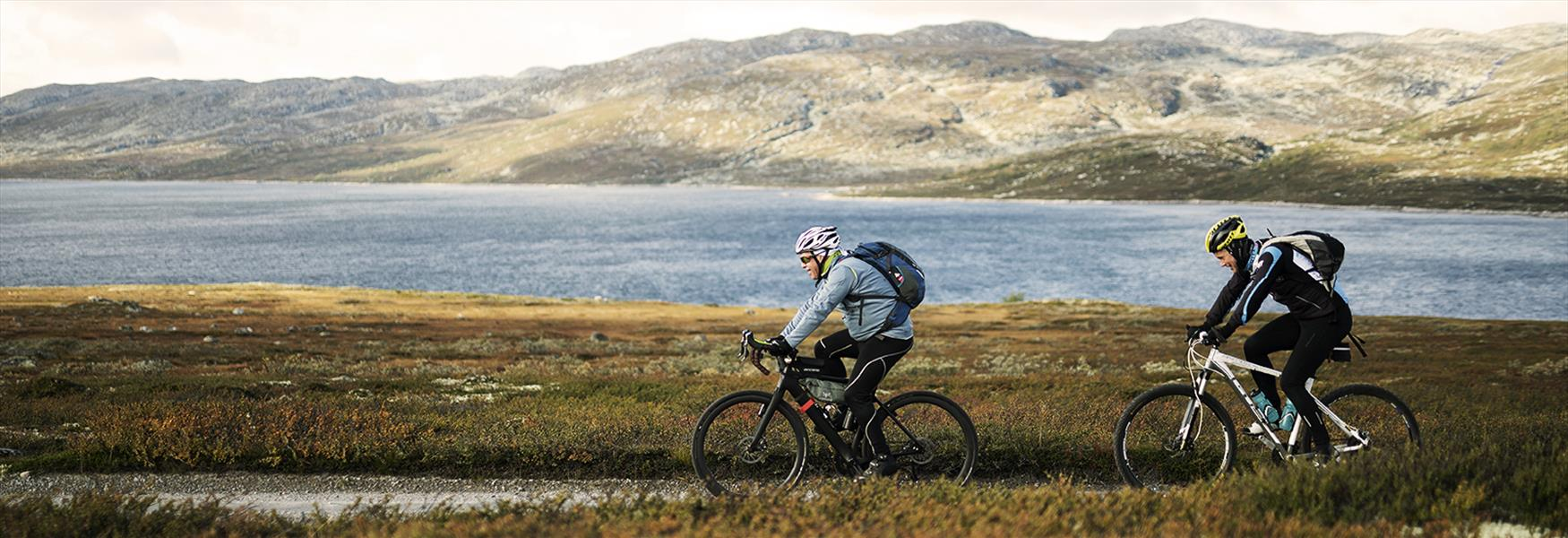 Sykling på Hardangervidda om høsten