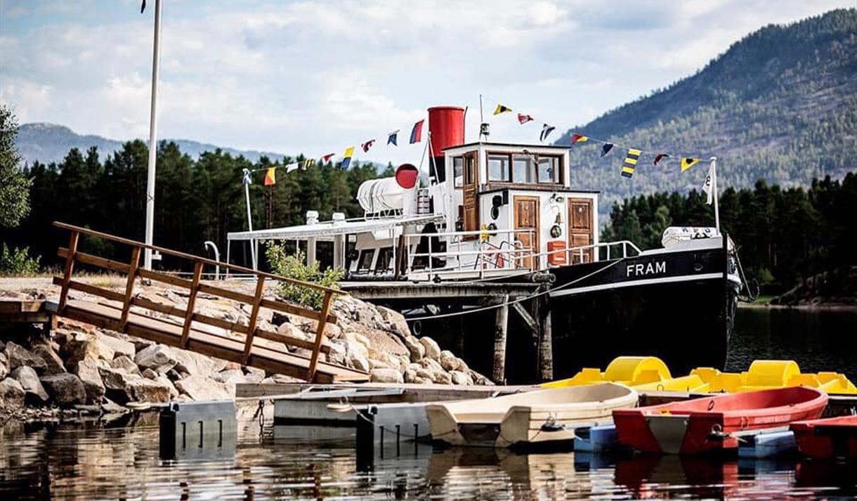 Båten M/S Fram