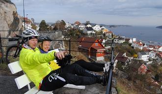 På sykkel langs Telemarkskysten