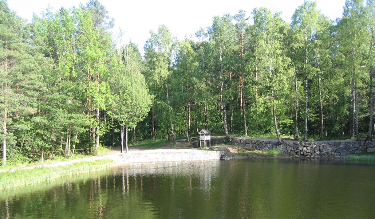 Dammane in Brevik, nice walking area