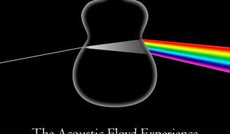 Bandet The Acustic Floyd Experience plakat på Rockers i Langesund