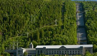 Norsk Industriarbeidermuseum på Vemork. Også verdensarvsenter.