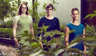 Lynetta Taylor Hansen, Mona Bråthen Henriksen, Ingrid Åhlander Bennett
