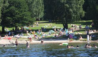 Brønnstadbukta bathing place