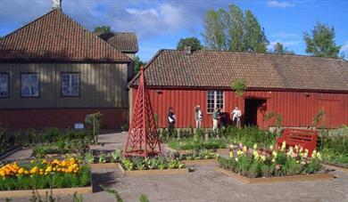 Historisk hage i Porsgrunn