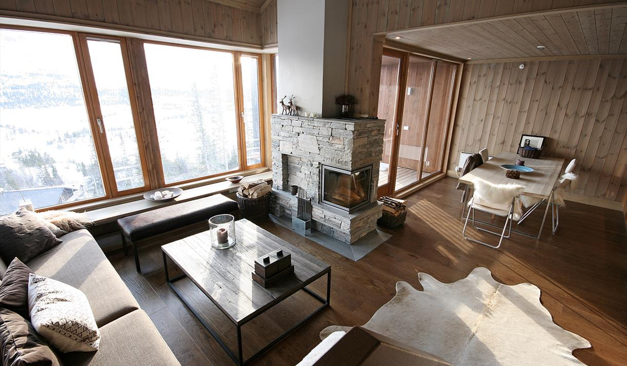 Gaustatoppen Lodge is one of many apartments
