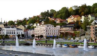 Thon Hotel Høyers i Skien er Telemarks eldste hotell