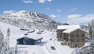 Gaustatoppen sportell is a new accommodation at Gausta