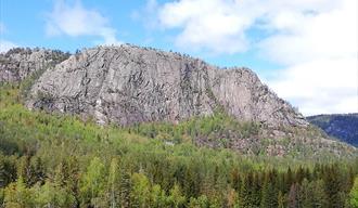 Elefantfjellet, Bø i Tørdal - flott utsiktspunkt