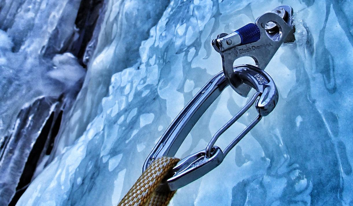Rjukan is a popular place for ice climbing.