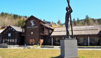 museumsbygg av Norsk skieventyr i Morgedal