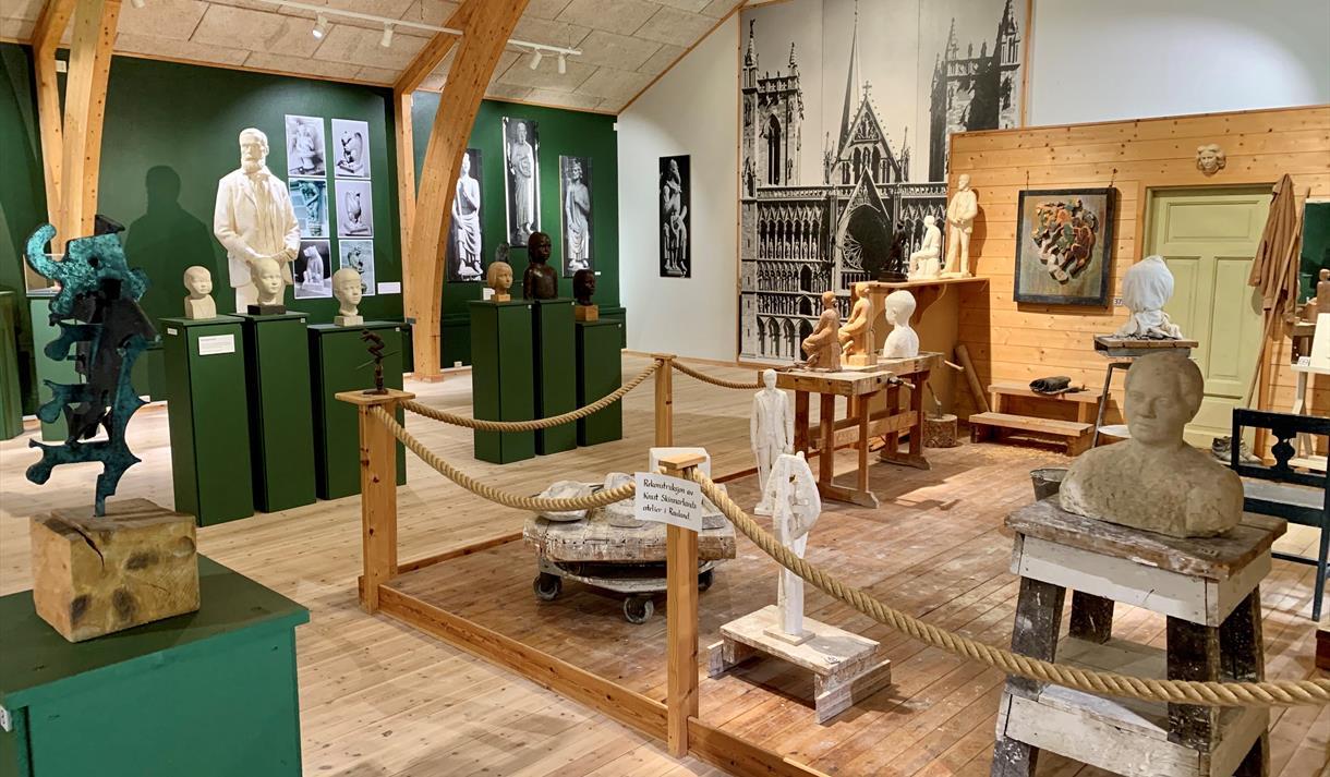 Skinnarlandsamlinga i Rauland, Vest-Telemark museum, Knut Skinnarland.