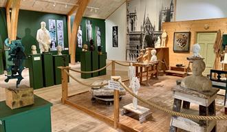 Knut Skinnarland Sculptural Art Collection - Rauland Kunstmuseum
