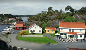 Havparadiset in Hafsund - Vertshuset at Kjønnøya