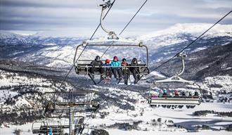 8 seters stolheis på Vrådal panorama skisenter
