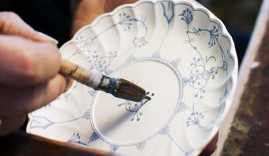 Handmade porcelain