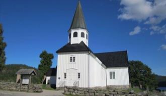 Drangedal kirke, inngangsparti
