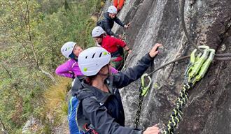Guidet klatretur med Gautefall Event