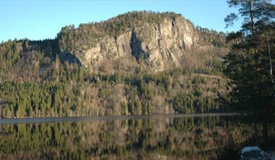 Øvrebøtjern, Gea Norvegica Unesco Global Geopark