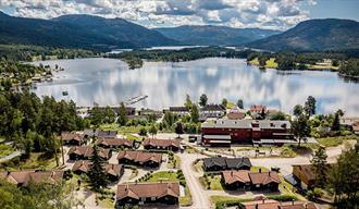 overview over lake Nisser at Vrådal