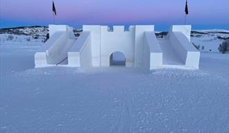 snøborgen på Vierli