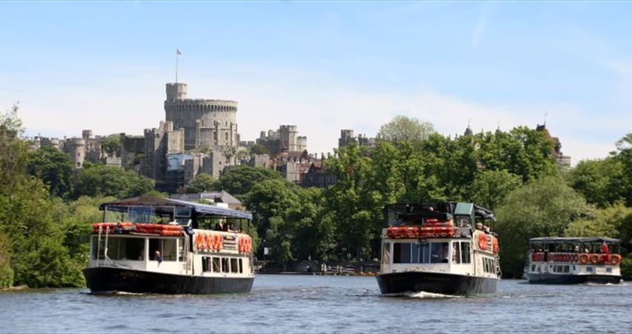 French Brothers boats in front of Windsor Castle