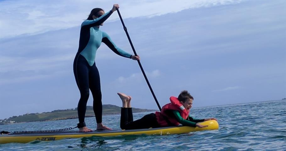 Ody Boat Hire  - family SUP