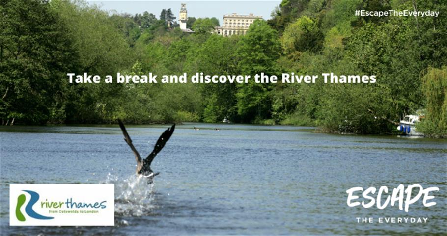 Escape the Everyday and take a break along the River Thames this Spring/Summer