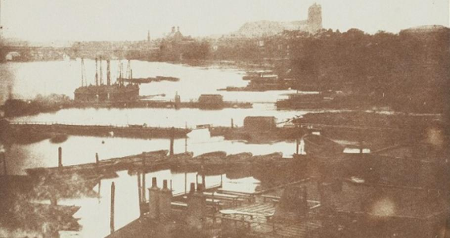 Earliest known panoramic photographic view of London