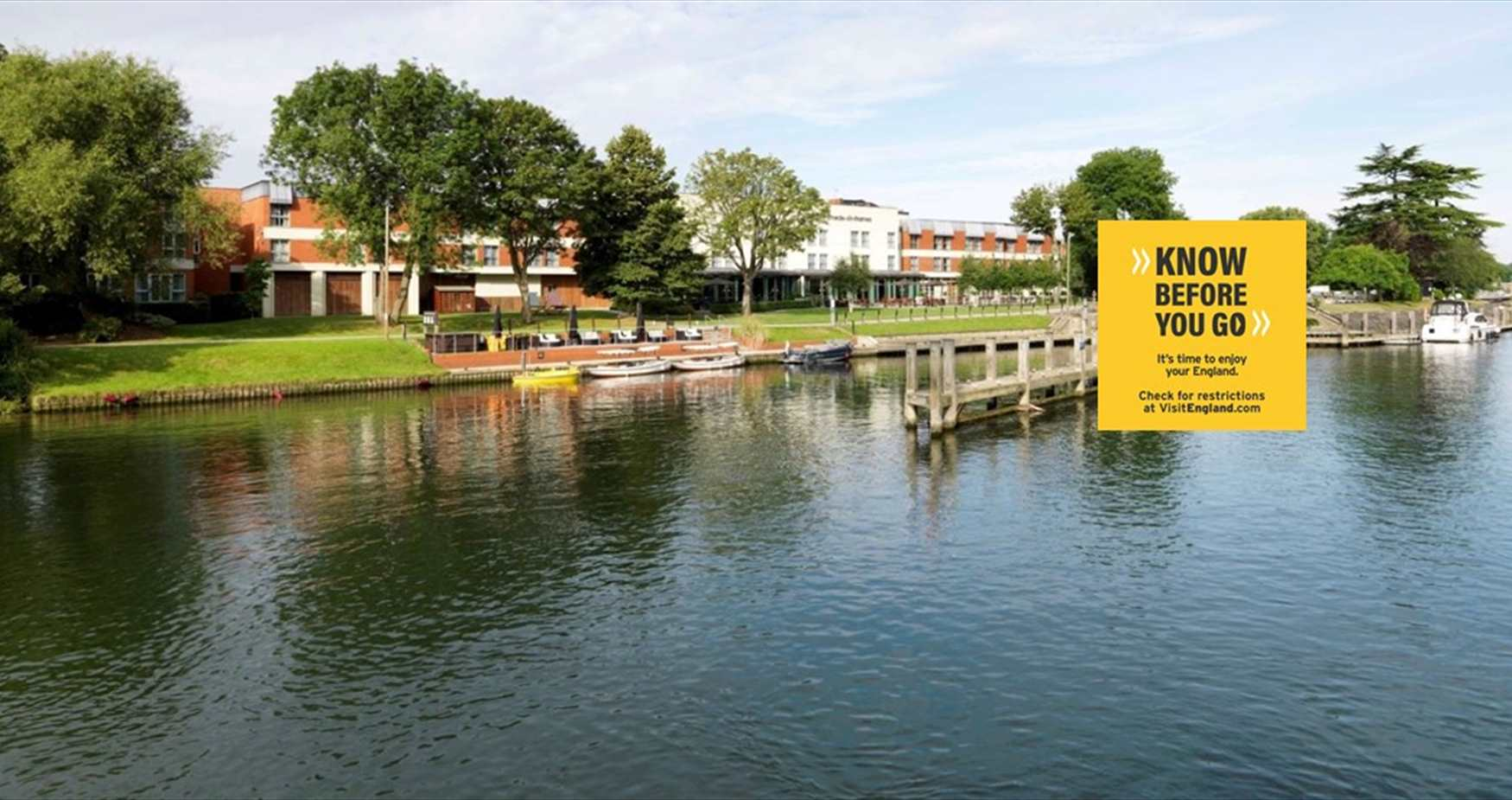 River Thames at Bell Weir Lock, What's Open, Know Before You Go