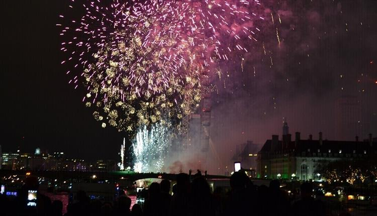 London's New Year's Eve Celestial Cruise on the Thames with City Cruises