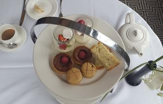 Afternoon Tea on the Terrace, Macdonald Compleat Angler