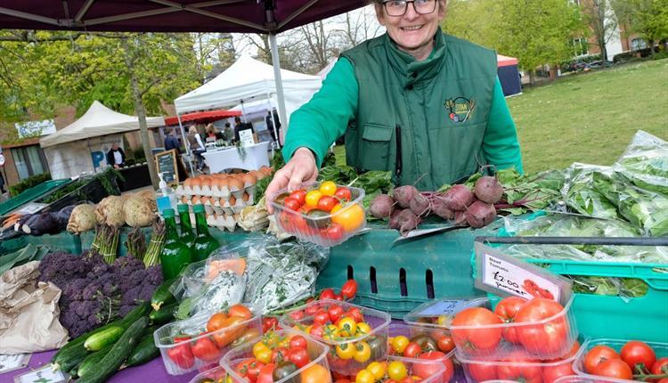 Windsor Farmers' Market, credit Mike Swift