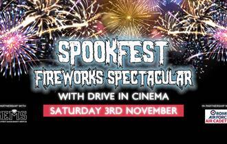 Spookfest Firework Spooktacular at Windsor Racecourse
