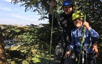 Big Tree Climb at Stonor Park