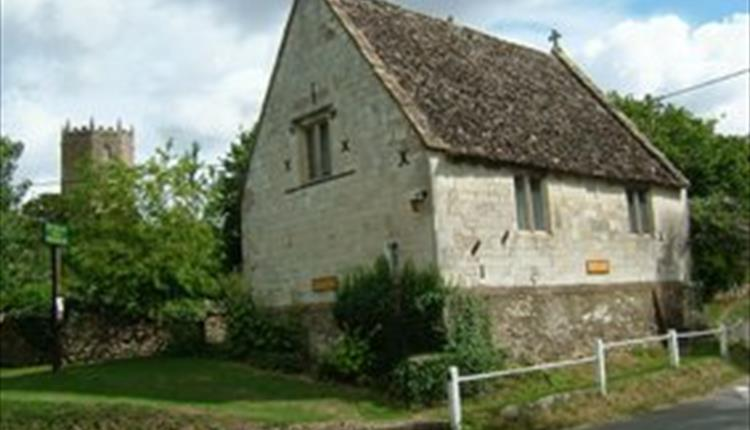 The Old Schoolroom' now the Tom Brown's School Museum in Uffington