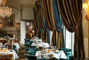 Eating at Cliveden House