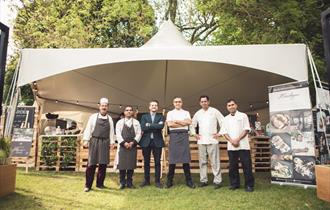 Chefs at the Pub in the Park