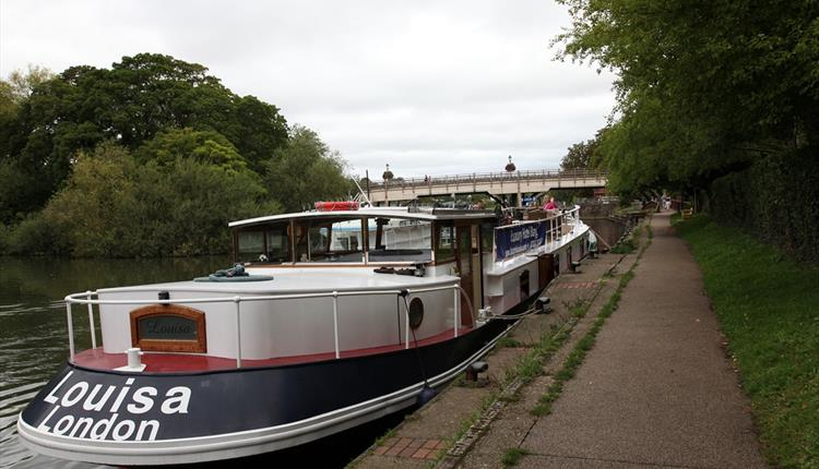 Barge Louisa, River Thames