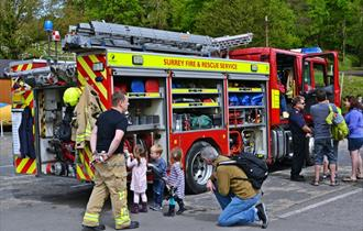 Emergency Services Day at Brooklands Museum