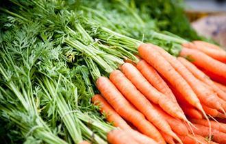 Woodstock Farmers Market carrots