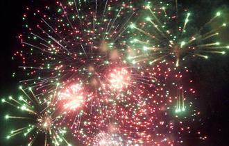 Faringdon Annual Charity Fireworks Display, Faringdon House