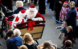 Christmas Family Raceday at Ascot Racecourse